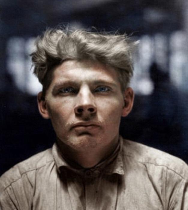 Финский эмигрант, нелегально приехавший в США в 1926 году.