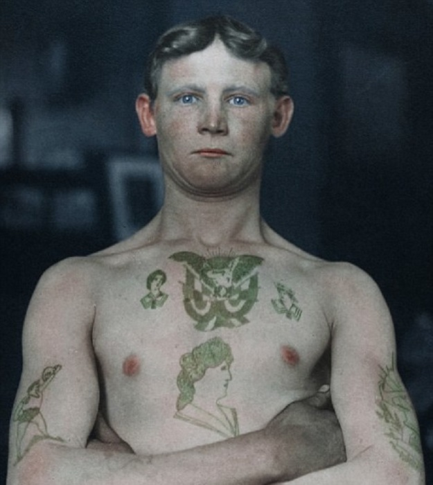 Немецкий нелегальный эмигрант, прибывший в Америку в 1911 году.