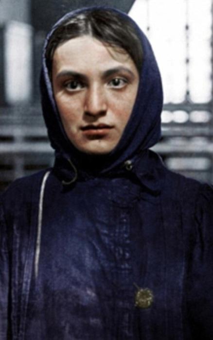 Еврейка из России, эмигрировавшая в 1905 году.