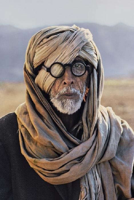 Портретный снимок. Афганистан, Белуджистан, 1981 год.
