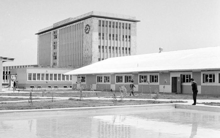 Здание правительственной типографии в Кабуле, 9 июня 1966 год.