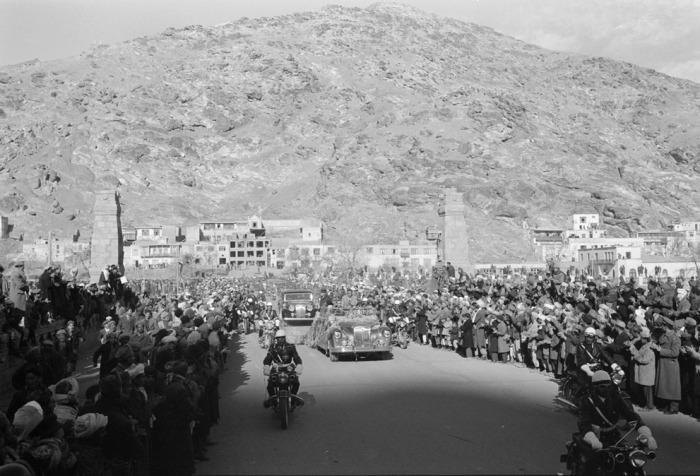 Кортеж президента Эйзенхауэра. Афганистан, Кабул, 9 декабря 1959 года.