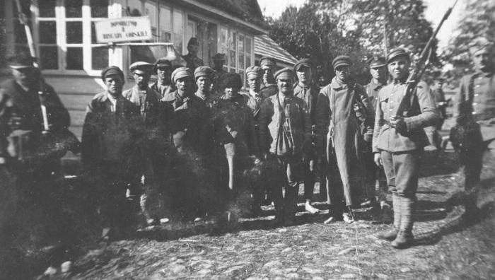 Группа советских пленных. 1920-е годы.