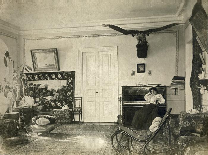 Квартира лесничего Хан-Агова в Ахалцихе в Тифлисской губернии.