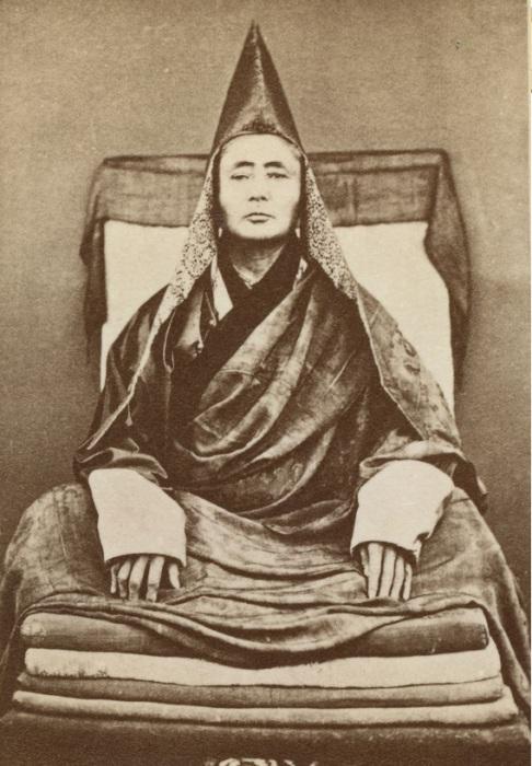Портрет великого ламы Гусиноозёрского дацана.