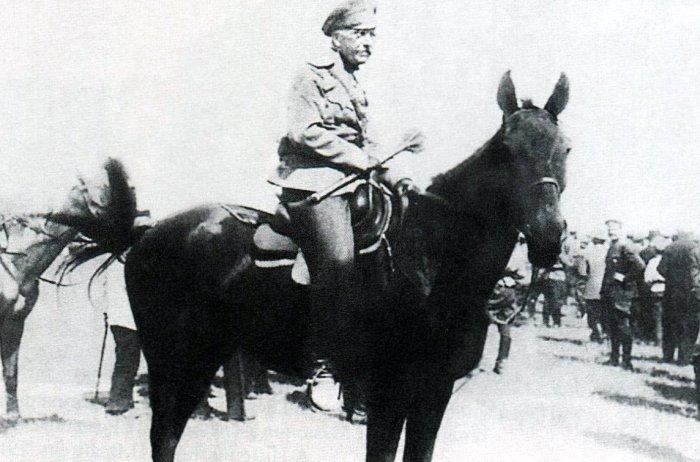 Генерал Петр Николаевич Краснов. Атаман Всевеликого Войска Донского.