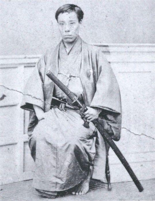 Потомственный самурай.