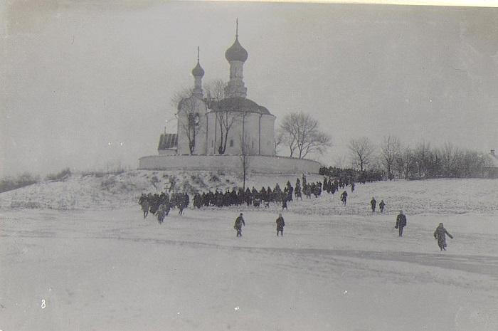 Праздник Крещения в Лупе-Рече. Бессарабия, начало 20 века.