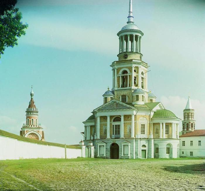 Борисоглебский мужской монастырь.