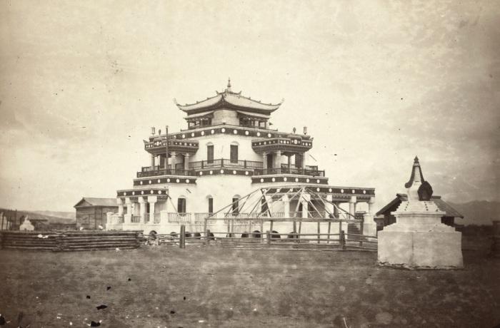 Буддийский дацан, расположенный в Забайкалье.
