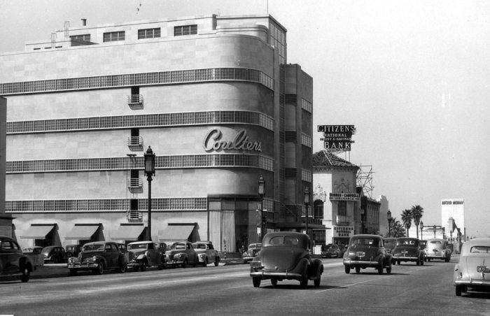 Лучшее место для шопинга в Лос-Анджелесе, 1939 год.