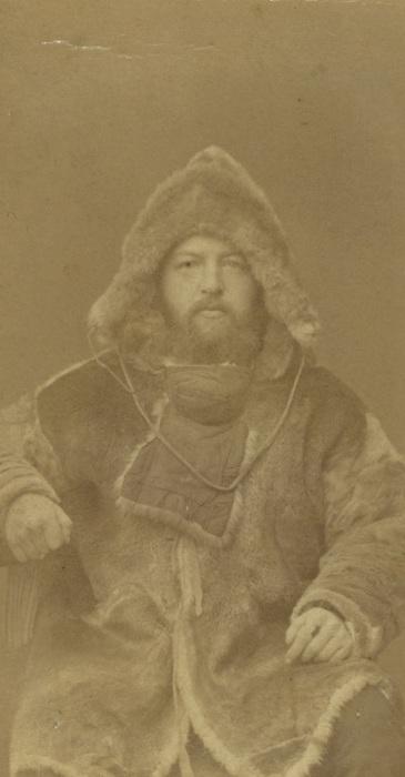 Портрет полярного исследователя.