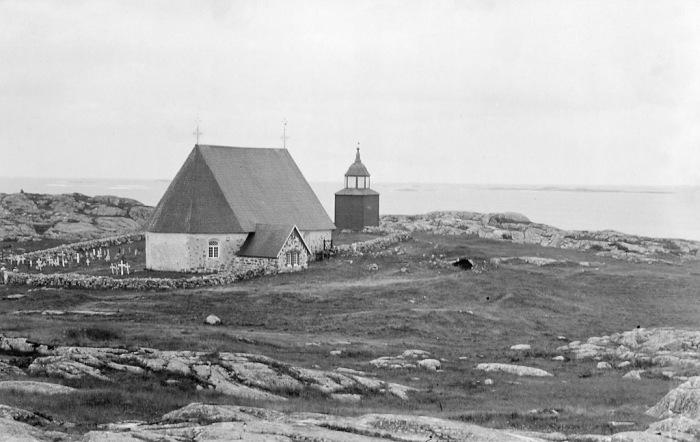 Церковь Святой Анны на Аландских островах в Балтийском море.