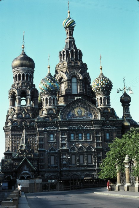 Собор Воскресения Христова на Крови. СССР, Ленинград, 1975 год.