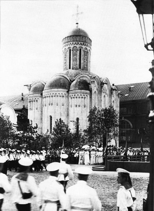 Храм Спас на Водах в память моряков, погибших в Русско-Японскую войну. Россия, 1911 год.