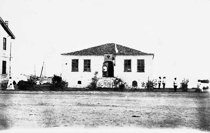 Здание центрального комендантского управление. Галлиполи, 1921 год.