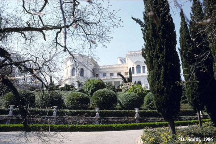Бывшая южная резиденция российских императоров. Крым, Ливадия, 1988 год.