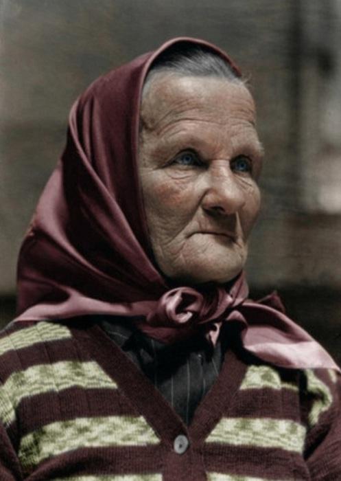Чешская бабушка, эмигрировавшая в Америку в 1926 году.