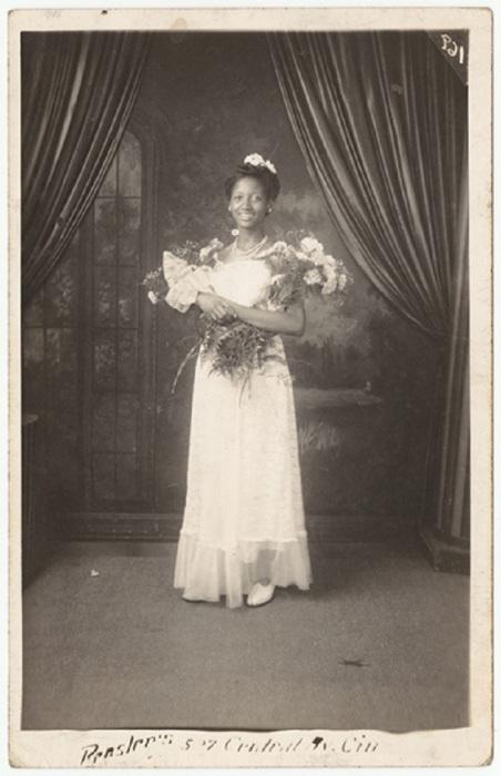 Темнокожая невеста.