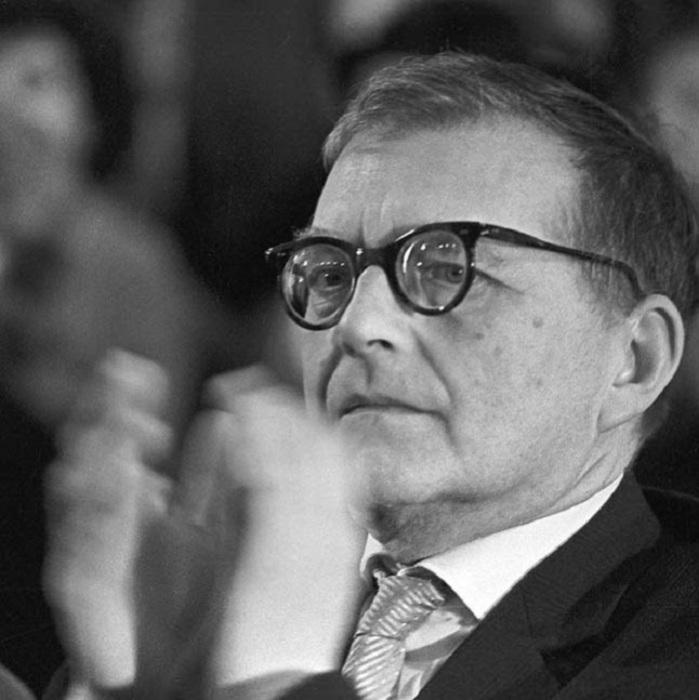 Дмитрий Шостакович в 1965 году.