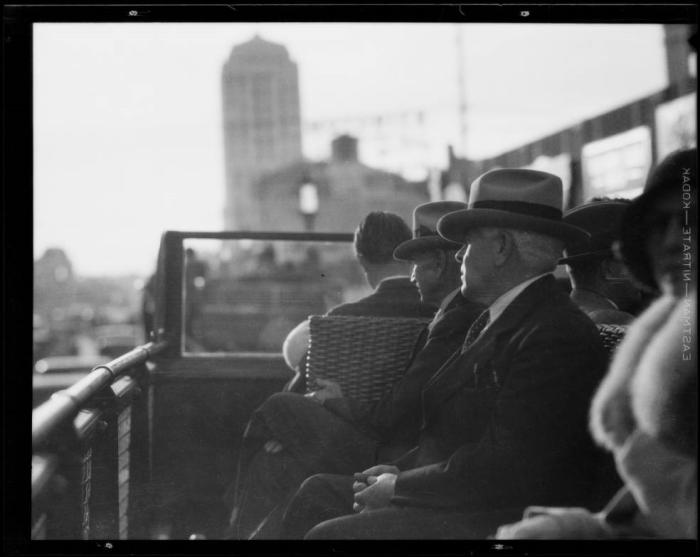 Экскурсия по Лос-Анджелесу, 1931 год.