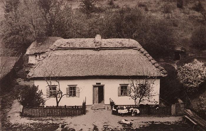 Крестьянская усадьба. Село Старая Веремиевка, конец XIX века.