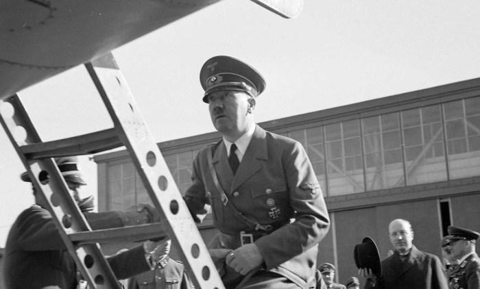Визит Адольфа Гитлера в Финляндию в июне 1942 года.