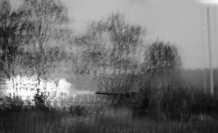 Стрельба по русской сторожевой башне возле Койтсанлахти.