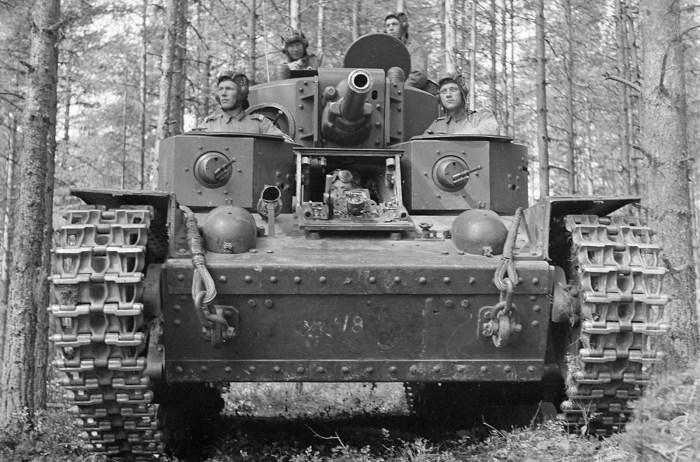 Финский танковый экипаж, 8 июля 1941 года.