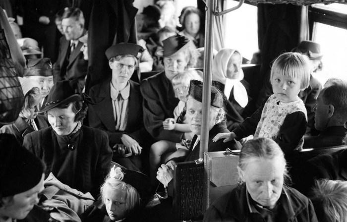 Эвакуация гражданского населения, 1 июля 1941 года.