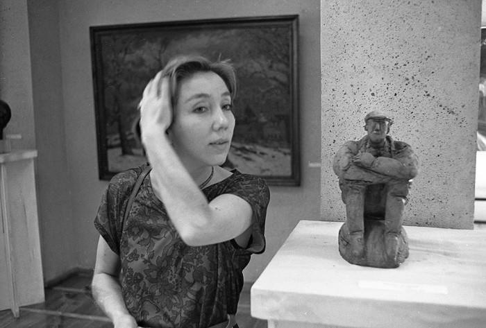 Скульптор Асия Ушакова из Казани. Автор фотографии: Evgeny Kanaev.