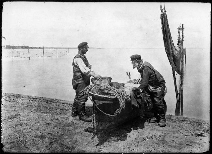 Рыболовный промысел.