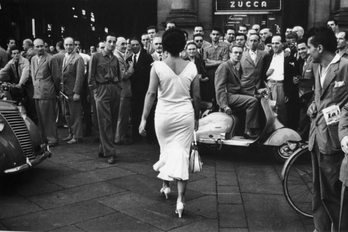Мойра Орфей. Италия, 1954 год.