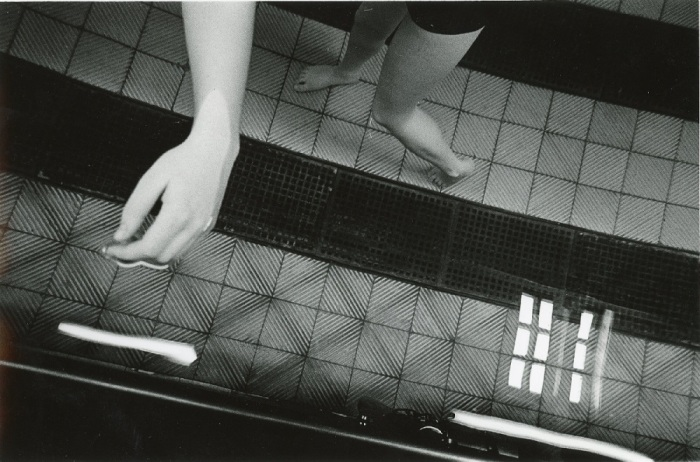 Руки и ноги в воде.  Великобритания, Бакстон, 1975 год.