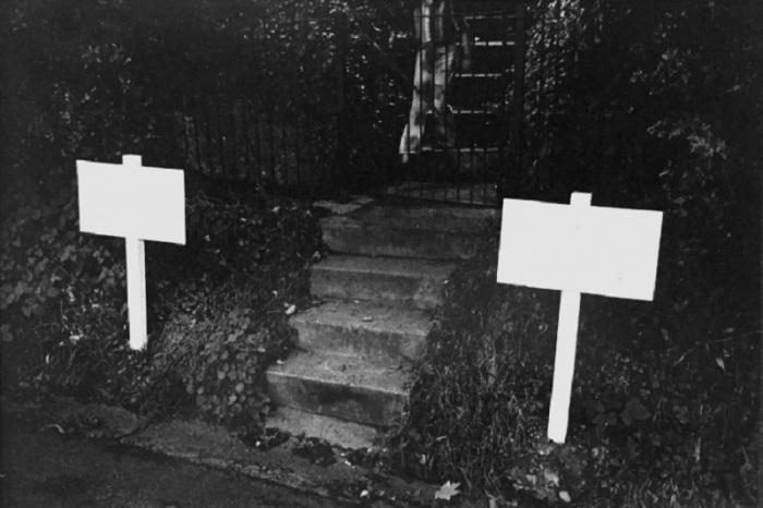 Белые указатели. Великобритания, Шрусбери, 1974 год.