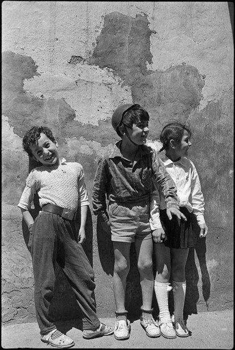 Подростки. Грузия, Тбилиси, 1976 год.
