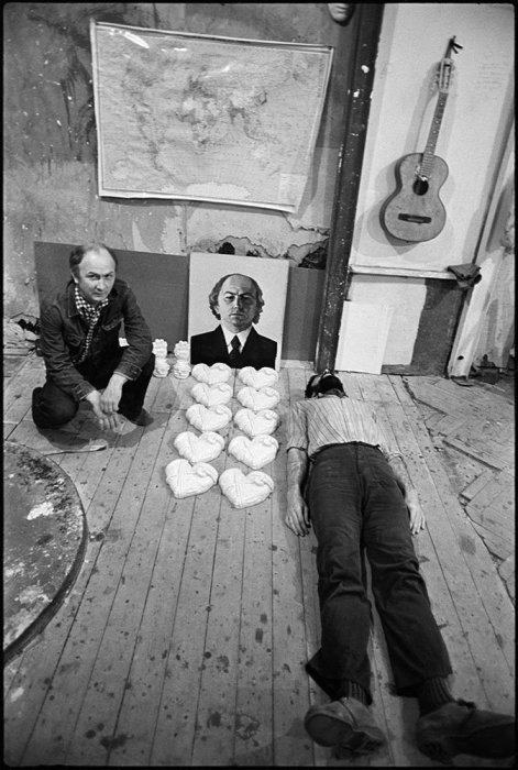 Леонид Соков и Сергей Есаян. СССР, Москва, 1978 год.
