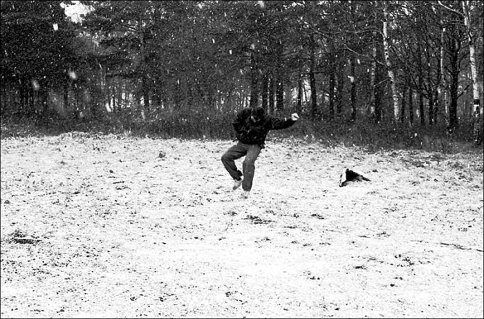 Хорошее настроение. СССР, Московская область, 1990 год.