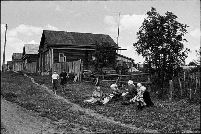 Сельская местность. СССР, Московская область, 1970-е годы.