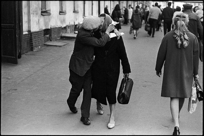 Советская жизнь на фотографиях  Владимира Сычева.