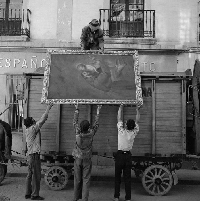 Четверо мужчин и живопись. Италия, 1956 год.
