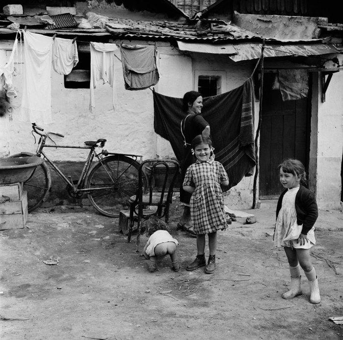 Вид «сзади». Испания, 1956 год.