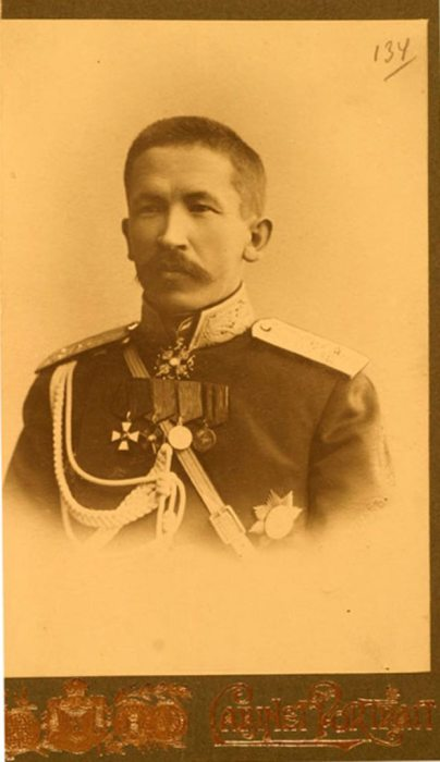 Генерал Лавр Георгиевич Корнилов.