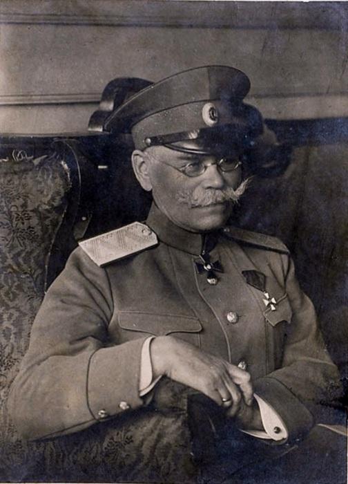 Генерал Алексеев. 1918 год.