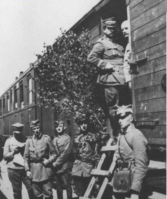 Генерал Юзеф Халлер. 1920 год.