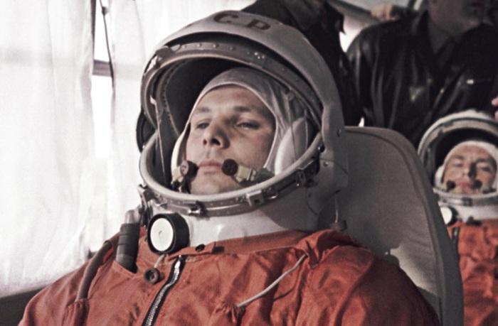Герман Титов - дублер Юрия Гагарина. 1961 года.