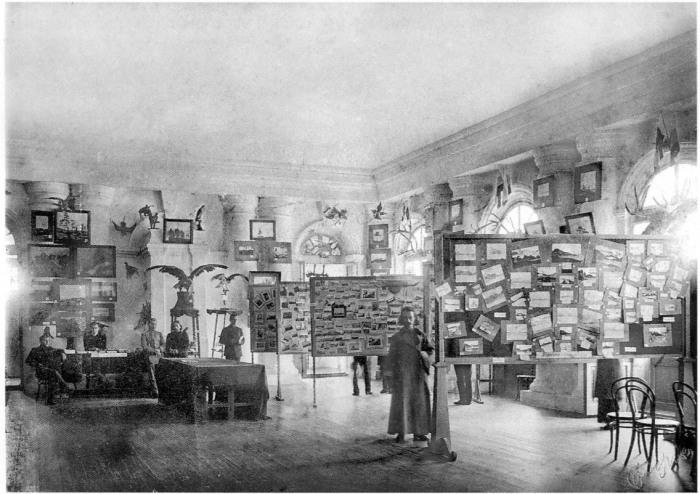 Экспонаты на выставке Русский Север. Россия, Архангельск, 11 августа 1911 года.