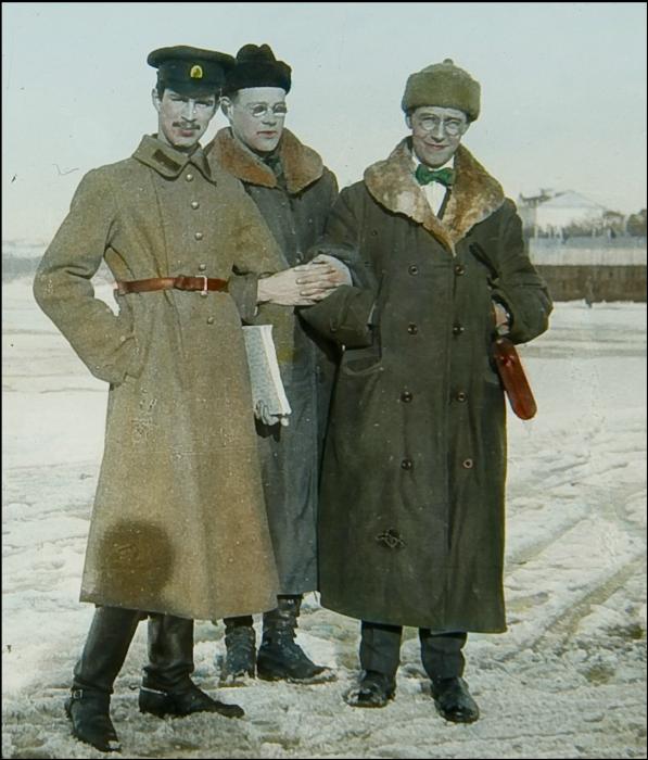Групповой снимок в Пскове.