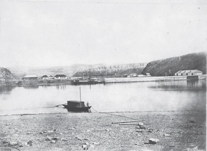 Гавань Муравьева в Сретенске. Россия, 1880 годы.