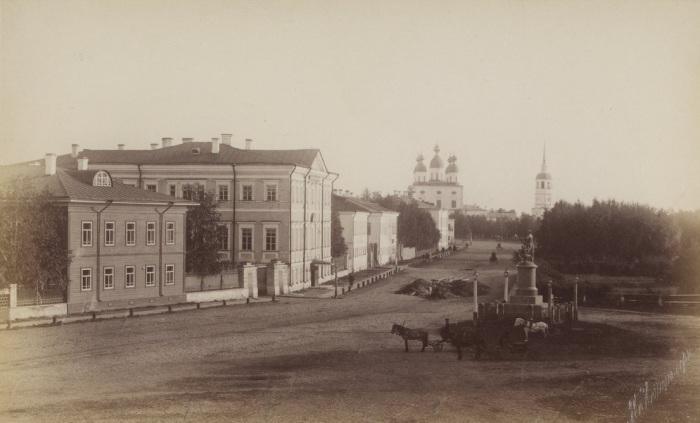 Дом Ломоносова в Архангельской области. Россия, 1887 год.